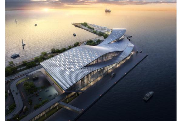 Coloris Qingdao Cruise Port 1